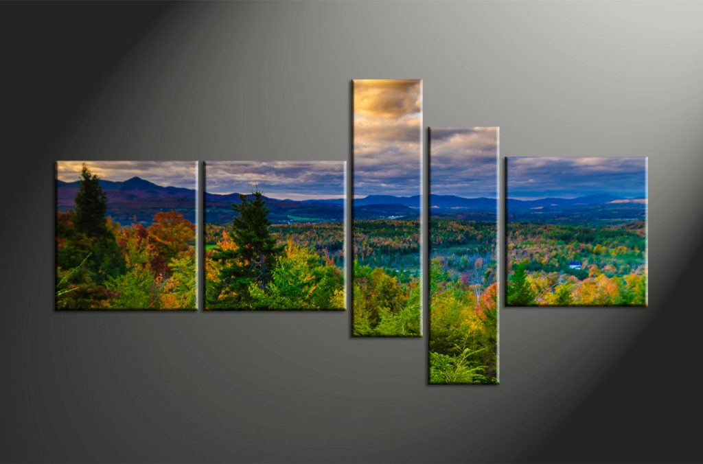 landscape canvas prints